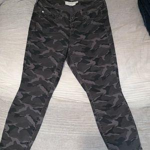 Torrid grey camo pants